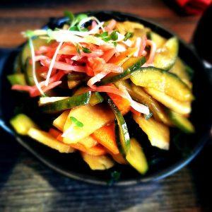 ירקות כבושים בסגנון יפני