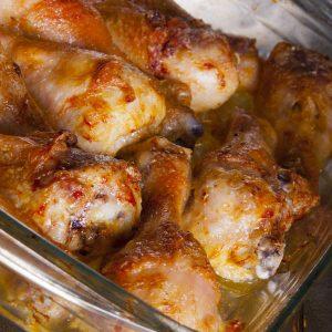 עוף בחמאת בוטנים