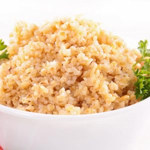 Burgul with quinoa