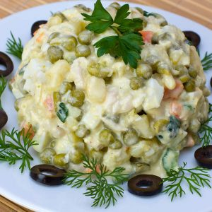 Olivier - Russian potato salad