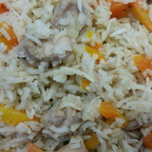 תבשיל אורז עם עוף