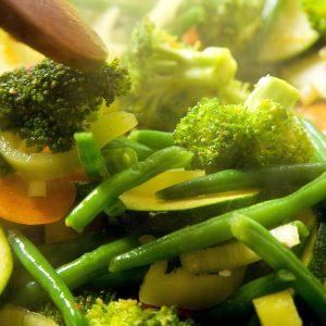 ירקות ירוקים מוקפצים ענת אלשטיין
