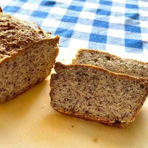 לחם מלא דל פחמימות תמונה מקרוב